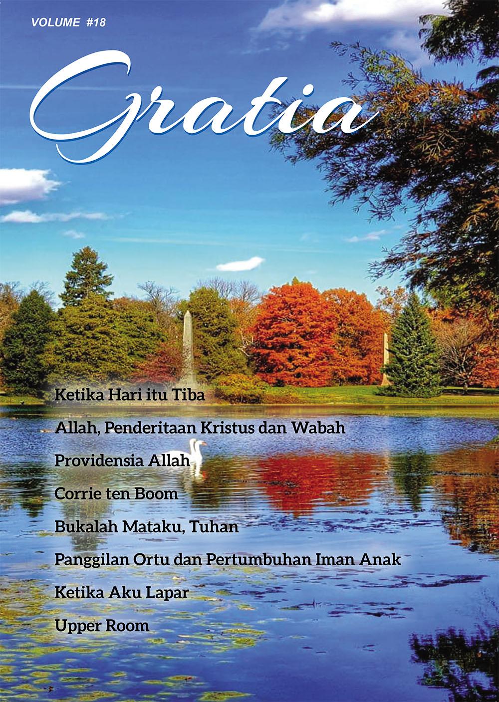 GRATIA 18 cover